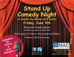 2017 STAND UP COMEDY NIGHT JUNE 9