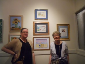 Blended Artist Mary Bellew and Family